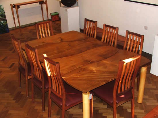 Blackwood Chairs and Table
