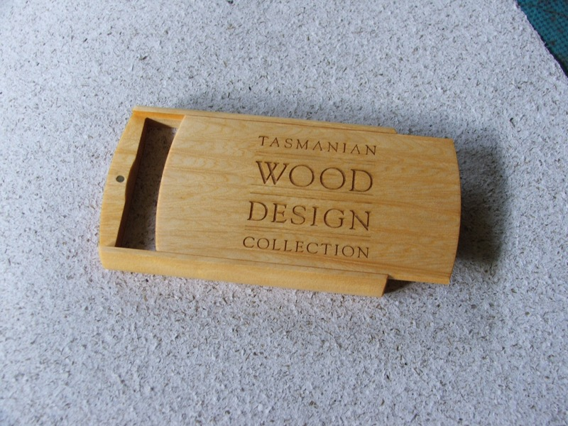 Wooden Card Case